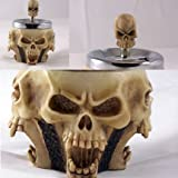 Rotating Head Swivel Skull Ashtray Picture