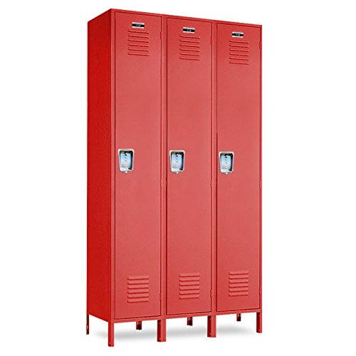 Red School Lockers 36