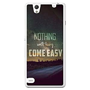 a AND b Designer Printed Mobile Back Cover / Back Case For Sony Xperia C4 (SONY_C4_3202)