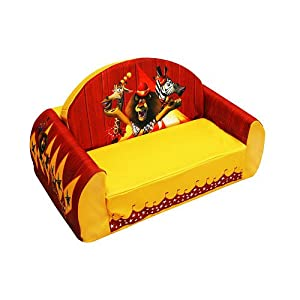 Madagascar 3 Flip Sofa from Harmony Kids