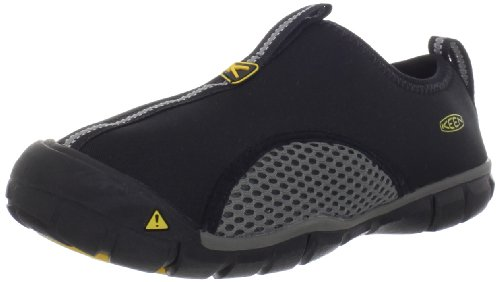 KEEN Rockbrook CNX Water Shoe ,Black/Gargoyle,1 M US Little