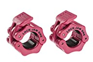 Lock-Jaw 1 Inch Barbell Collar Pair P…