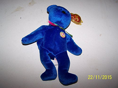 Ty Beanie Babies - 1998 Clubby the Bear (Retired)
