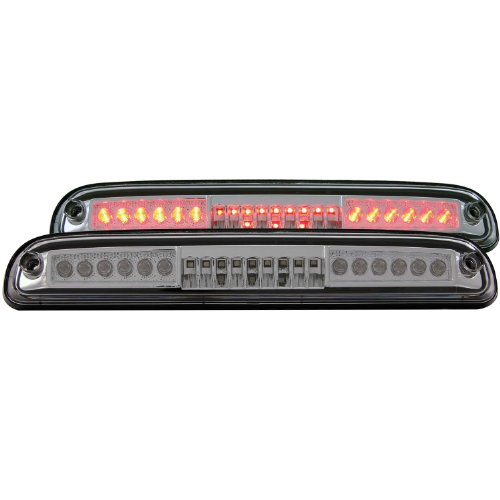 Anzo Usa 531021 Ford Super Duty Led Chrome Third Brake Light Assembly