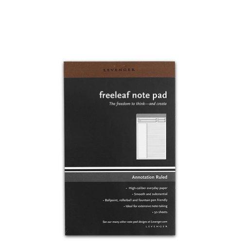 Levenger Freeleaf Annotation Ruled Pads, Junior (5) (ADS5580 JNR) (Annotation Ruled Pads compare prices)