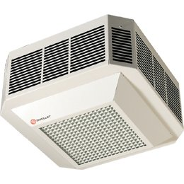 Ceiling mounted forced air heater