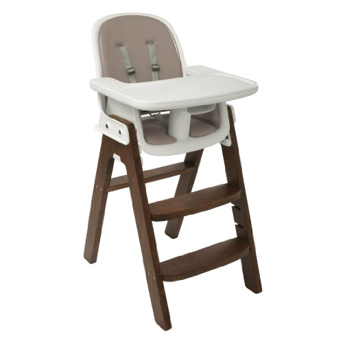 OXO Tot Sprout Chair, Taupe/Walnut