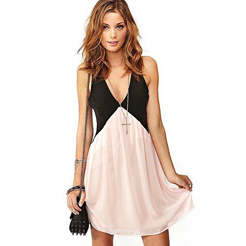 foru-harper-vestito-donna-rosa-medium