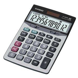 カシオ 卓上タイプ 12桁 電卓【ジャストサイズ】 JF-120VB-N