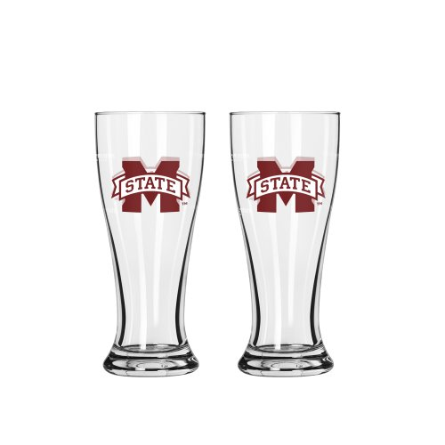 Ncaa Mississippi State Bulldogs 2.5-Ounce Mini Pilsners (Pack Of 2) front-573779