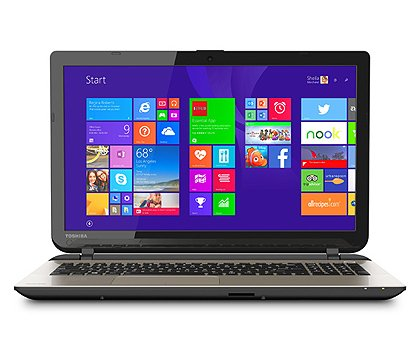 "Toshiba L55D-B5364, A8 processor, 8GB RAM, 1TB harde schijf, Windows 8.1, 15.6"" Laptop"