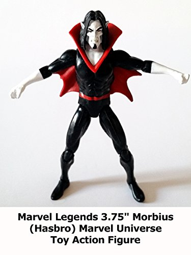 "Review: Marvel Legends 3.75"" Morbius (Hasbro) Marvel Universe Toy Action Figure"