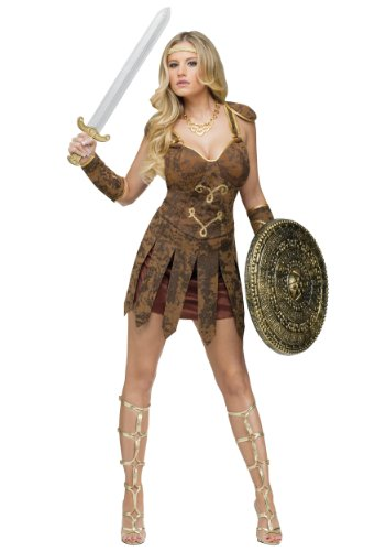 Fun World Roman Gladiator Beauty Costume