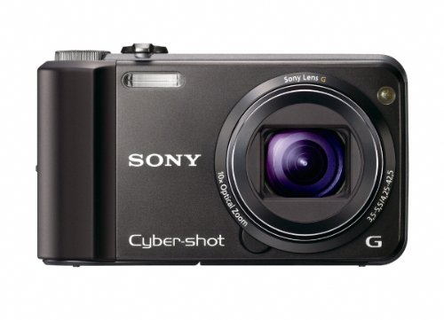 Cyber Monday Sony Cyber-Shot DSC-H70 16.1 MP Digital Still Camera with 10x Wide-Angle Optical Zoom G Lens and 3.0-inch LCD (Black) Deals