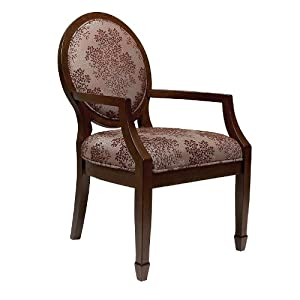 Amazon Com Madison Park Bloom Accent Chair Kitchen Amp Dining