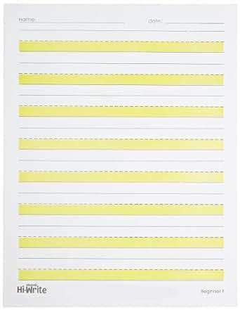 Abilitations Hi Write Paper Printable