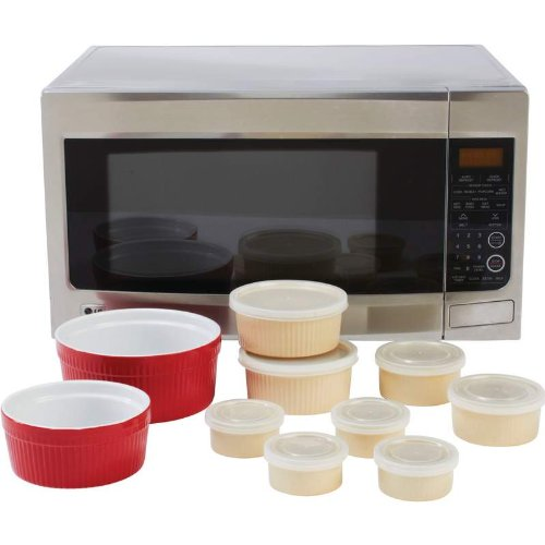 Stoneware Set - Eighteen Piece - This Stoneware Is Oven Safe Up To 425°F