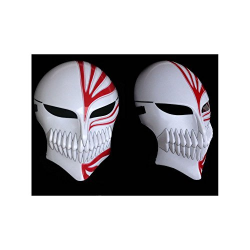 I Paimy A God of Death Plastic Material Fancy Dress Party Halloween Mask (Red)