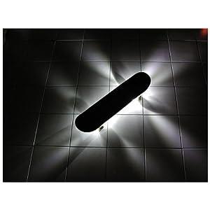 Xboard Illuminators LED Lighted Risers, White