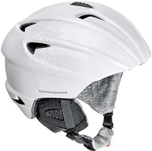 Ultrasport Pro Race Edition Snowboard Helmet - White, Medium/Large