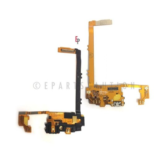 Epartsolution-Lg Nexus 5 D820 D821 Charging Port Flex Cable Dock Connector Usb Port With Mic Microphone Flex Cable Repair Part Usa Seller