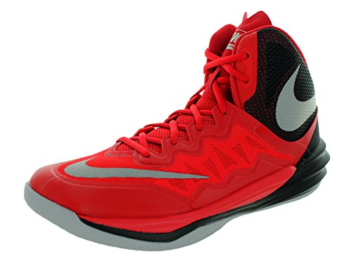 pictures of Nike Men's Prime Hype DF II Unvrsty Rd/Rflct Slvr/Blk/