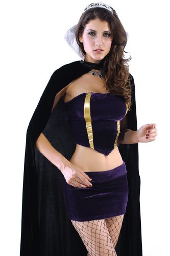 Dear-Lover Women's Deluxe Wicked Queen Costume