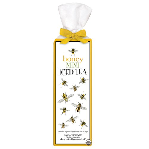 Scattered Bees - Honey Mint Iced Tea