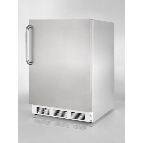24 Inch Wide Refrigerator Stainless Steel front-476468