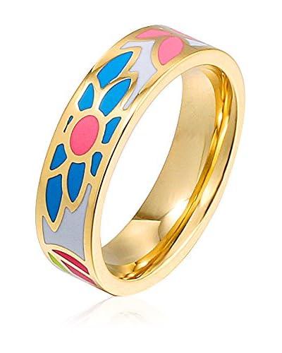 ROSE SALOME JEWELS Ring R018S vergoldeter Stahl 18 Karat