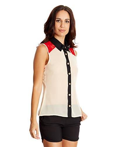 Rare London Camicia Donna Bow Colar