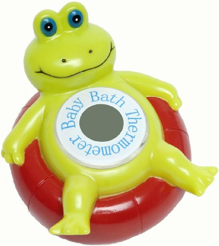 Baby Luv Bath Thermometer- Frog Power!