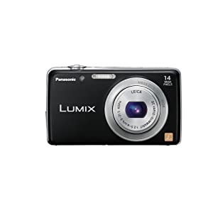 Panasonic Lumix FH6 14.1 MP Digital Camera with 5x Optical Zoom (Black)
