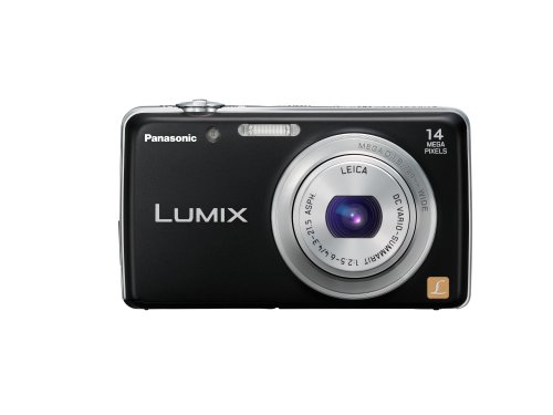 Panasonic Lumix FH6 14.1 MP Digital Camera with 5 Optical Zoom (Black)