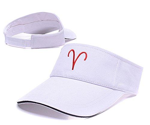[Jeffrey Homestuck Troll Sign Logo Visor Cap Embroidery Sun Hat Sports Visors] (John Homestuck Costumes)