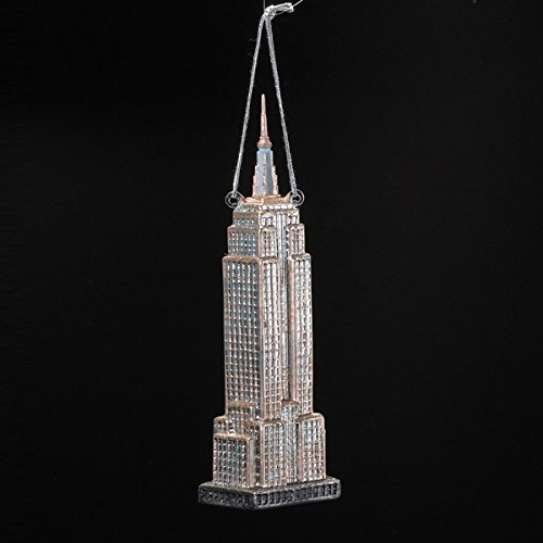 Kurt Adler Noble Gems Empire State Building Ornament, 6.5-Inch (Empire State Building Replica compare prices)