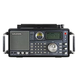 Grundig Satellite 750 AM/FM-Stereo/Shortwave/Aircraft Band Radio with SSB (Single Side Band), Black