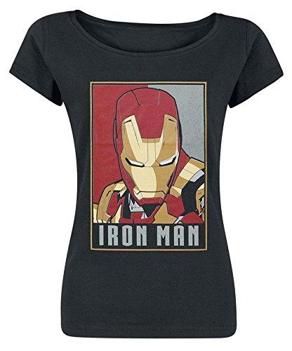 Iron Man Obey Style Maglia donna nero S