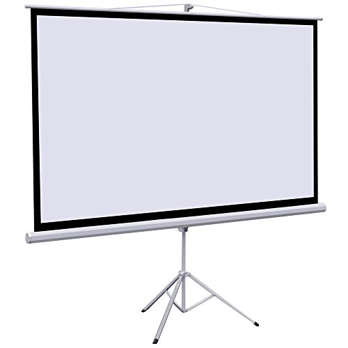 World Pride Duet 100-Inch Dual Aspect Ratio Projection Screen