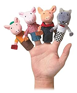 Storytime Three Little Pigs FP Boxed Set by Manhattan Toy