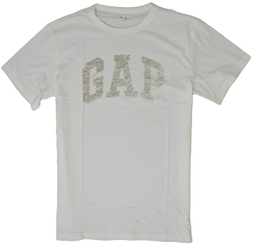 gap-mens-arch-logo-graphic-short-sleeve-crew-neck-t-shirt-large-white