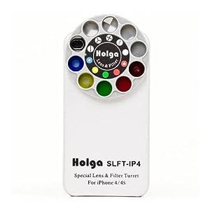 Holga 400110 Lens Case for iPhone 4/4s - White