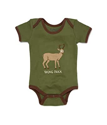 Hatley Young Buck One Piece, Green, 6-12 Months