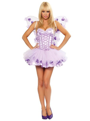 3 Piece Lavender Fairy Costume