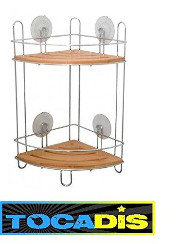 3664027004259 accessoire salle de bain bambou tocadis etagere dangle - Accessoire Salle De Bain Bambou