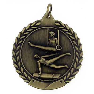 Gymnastics Medal - Male - Gold