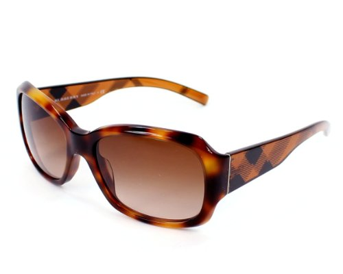 Burberry  Burberry BE4129 Sunglasses-3316/13 Havana (Brown Gradient Lens)-56mm