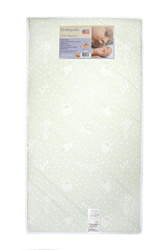 "Big Oshi 4"" Full Size Crib & Toddler Bed Mattress - 1"