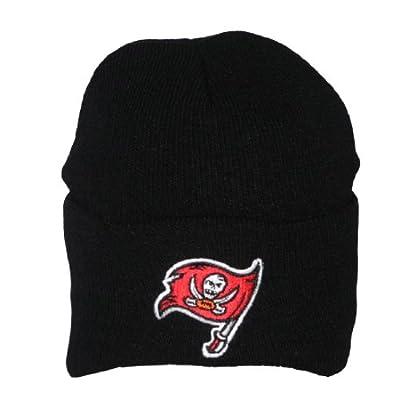NFL Tampa Bay Buccaneers Adult Ski & Skate Roll Up Beanie / Winter Hat
