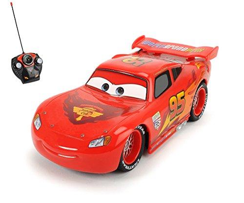 Disney Cars - Coche de chicos con remote control, color rojo (Dickie 4006333004179)